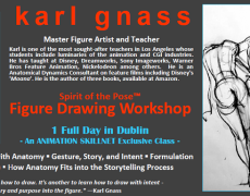 05.09.17 |  Karl Gnass' Spirit of the Pose™ Figure Drawing Workshop