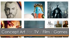 25.09.14 | Concept Art for TV, Film, Animation and Games (5 Thursday Evenings)