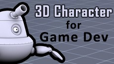 24.09.14 | 3D Character Creation for Game Development (from Modelling To Rigging To Gameplay) Using Maya and Unity 3D (10 Wednesday Evenings)