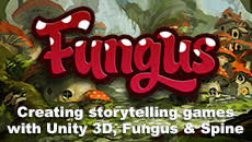 21.03.15 | Creating Storytelling Games with Unity 3D, Fungus & Spine (One Day – Saturday)