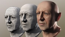 09.11.15 | Creating a Realistic Human Head in Maya and ZBrush (5 Monday Evenings)