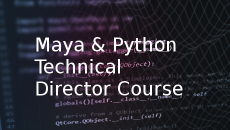11.11.15 | Maya & Python Technical Directors (5 Wednesday Evenings)