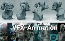 11.04.16 | Introduction to ZBrush for VFX and Animation (3 Days)