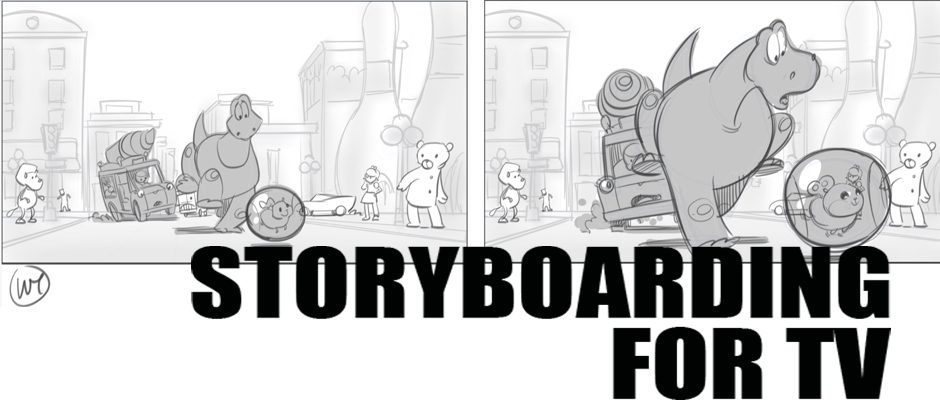 Storyboarding for a TV Series (5 Tuesday Evenings)