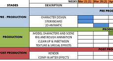 16.04.18   Production Management for Animation (5 Monday Evenings)