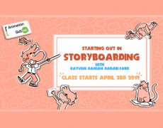 03.04.19 | Starting out in Storyboarding (5 Wednesday Evenings)