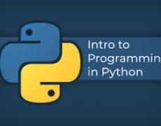 12.11.2019 | Programming in Python 101