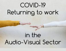 COVID-19 Return to Work Training for the Audio-Visual (AV) Sector